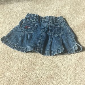 Denim Skirt Toddler 2T